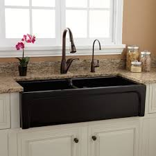 Amusing Black Farmhouse Kitchen Sinks Sink Home Depot Solid Small