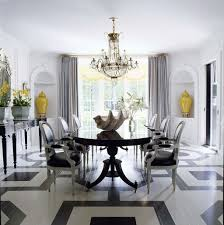 perfect dining room chandeliers. delighful chandeliers gorgeous dining room with crystal chandelier over large table and  black white chairs on perfect chandeliers