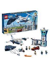 Конструктор <b>LEGO City</b> Police 60210 <b>Воздушная</b> полиция ...