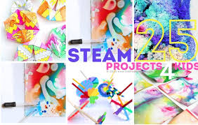 Creative Titles For Math Projects 25 Steam Projects For Kids Babble Dabble Do