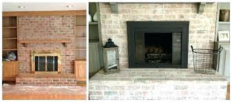 updating brick fireplace update brick fireplace before after whitewashed brick fireplace before and after remodel brick updating brick fireplace
