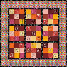 sudoku quilt | Scientific Quilter & Here's a link to 21 different ideas with Sudoku quilts ... Adamdwight.com