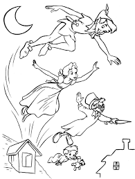 Small Picture Free Printable Peter Pan Coloring Pages For Kids