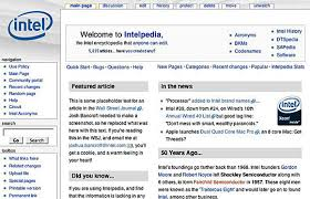 Wikis Business The Story Of Intelpedia A Model Corporate Wiki Inside