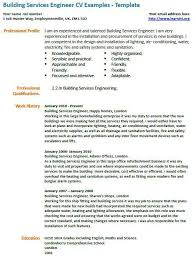 Engineering Cv Template Building Services Engineer Cv Example Learnistorg Threeroses Us