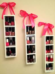 hang shelf without nails how to your nail polish all for fashions fashion hang shelf with hang shelf without nails