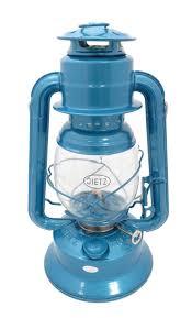 tz little wizard oil burning lantern blue small tank