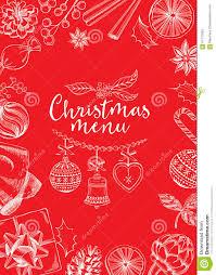 christmas invitation flyer graphic stock vector image christmas invitation flyer graphic