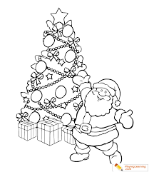 Christmas Tree Coloring Page 08 Free Christmas Tree Coloring Page