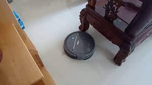 Robot Hút Bụi Lau Nhà thực tế làm việc - YouTube