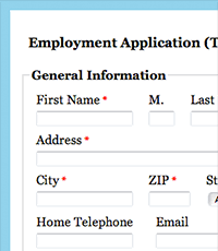 organization membership form template web form templates for your organization