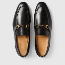 gucci shoes for men price. gucci men - jordaan leather loafer 406994blm001000 shoes for price