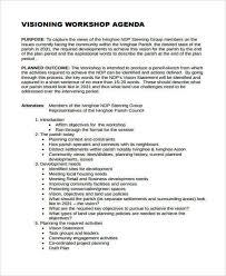 12 Workshop Agenda Examples Samples