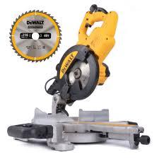 dewalt chop saw. dewalt dws774 216mm mitre saw with xps chop