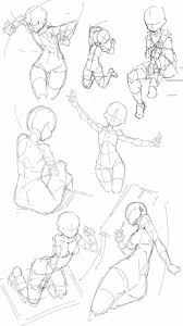 Sitting Poses Drawing At Paintingvalleycom Explore Collection Of