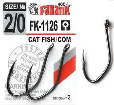 Одинарный <b>крючок Fanatik</b> FK-1126 <b>Cat Fish-Com</b> купить в ...