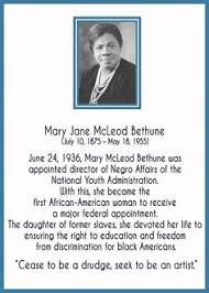 Mary Mcleod Bethune Quotes Fascinating 48 Best Black History Mary McLeod Bethune Images On Pinterest