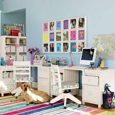 kids office. Kids Bedroom Desks Office Workstations White Desk Table F