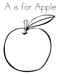 apple coloring page. Plain Page Printable Apple Coloring Pages Page Free  To Apple Coloring Page