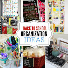 back to school organization ideas square 1024 1024 back to school organization diy