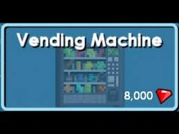 How To Make Vending Machine In Growtopia Awesome Growtopia PAW48 Vending Machine YouTube