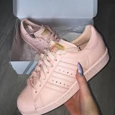 adidas shoes for girls superstar pink. shoes pink sneakers adidas supercolor peach nude light lightpink rose trainers casual for girls superstar