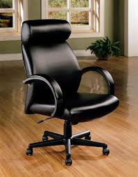 contemporary leather high office chair black. High Back Leather Office Chair Contemporary Black U
