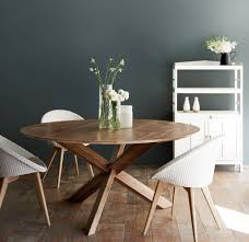 modern round dining table awesome teak round dining table sits 4 to 6 for the home