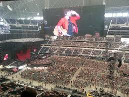 Dallas Cowboys Stadium Concert Seating Chart Best Seats At T Stadium For Concert Cowboys Field Level