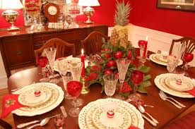Christmas Table Setting Christmas Tablescape With Lenox Holiday And A Colonial