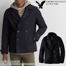 american eagle ae men s peacoat aeo wool peacoat navy 0107 9812 more than 10 800 yen cool gifts too large size is wrapper for free