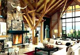 ranch style living room decor idea home interior with fireplace and sectional house decorating ideas furniture homes st
