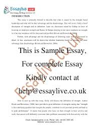 strength based leadership essay sample strength based leadership 2