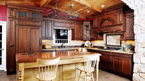 Solid Wood Kitchen Furniture Solid Wood Kitchen Cabinets Tags Rustic Hickory Kitchen Cabinets