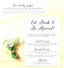 Dinner Party Menu Template Resume Ideas Fine Dining Templates