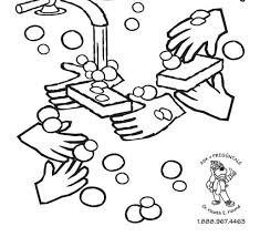 Small Picture Germs coloring page hand washing for kids coloring pages 24171