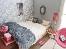 Bedroom: Pink And Grey Bedroom Unique Pink And Grey Bedroom 1 6th Scale I Am