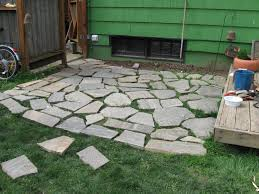 how to lay stone patio best of diy paver patio ideas