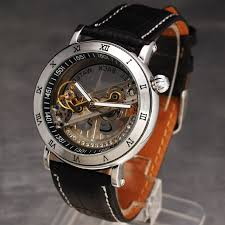 popular bridge watch buy cheap bridge watch lots from bridge 2016 shenhua antique hollow single bridge movement leather strap rome number dial mechanical automatic self