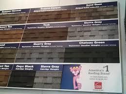 Oakridge Shingles Color Chart Tamko Vs Owens Corning Roofing Shingles Cost Pros Cons