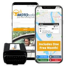 motosafety gps car tracking locator for real time driving coach with month of service obd version no contracts walmart