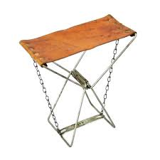 best camp stool folding leather camping bar stools