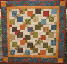 Quilt Patterns Squares | Patterns Gallery & The Lemon Squares Quilt Pattern is a squares-in-squares quilt that is made  out of only 6 types ... Adamdwight.com