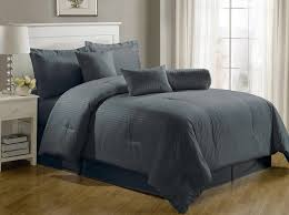 solid comforter sets queen total fab charcoal grey bedding for 17