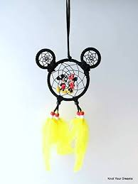 Mickey Mouse Dream Catcher Cool Amazon Mickey Mouse Dream Catcher Handmade