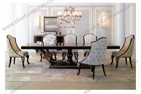 big dining table giltwood europen antique style big square baroque wood dining table set small dining