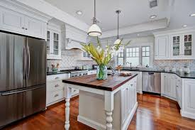 Custom Kitchen Island Kitchen Minimalist Kitchen Created On Impressive Hardwood