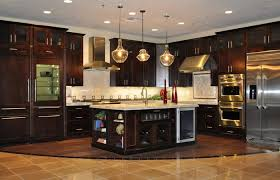 kitchen decoration medium size dark stained kitchen cabinets inspirational ideas with light oak hickory white
