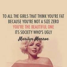 Quotes About Being Overweight And Beautiful Best of False Quotes Plus The Truth