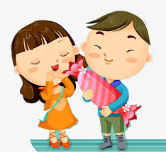 Little Couples Send Sugar Little Couple Sugar Cartoon PNG And PSD Amazing Little Couple Photo Download